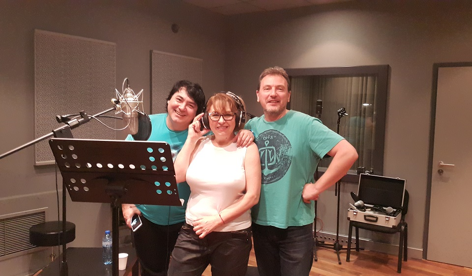 Margarita Hranova, Milen Makedonski and Ivan Boshev