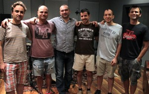 Borislav Petrov and friends at Pekarnata
