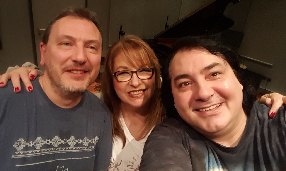 Margarita Hranova, Milen Makedonski i Ivan Boshev at Pekarnata
