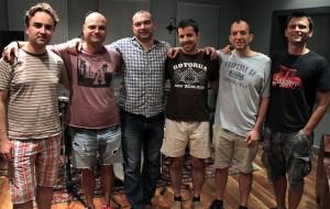 Borislav Petrov and friends at Pekarnata